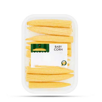 Baby corn thailand 1pcs(100gm)Above