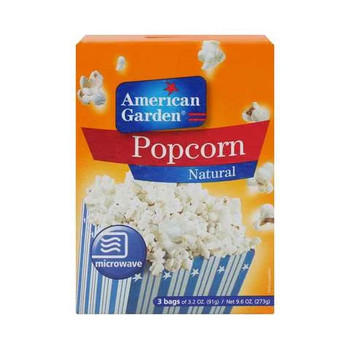 American Garden Microwave Regular Pop Corn 273g