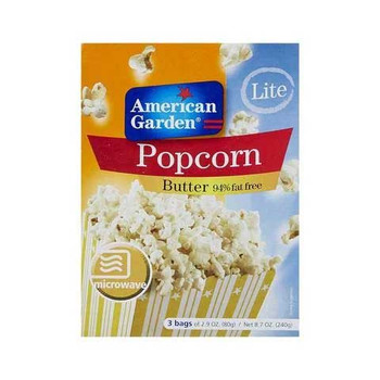 American Garden Microwave Light Pop Corn 240g