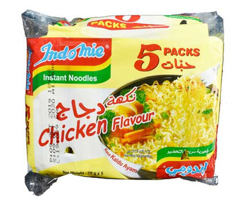 Indomie Chicken Noodles 70gm X 5