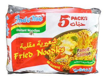 Indomie Fried Instant Noodle 80gm X 5