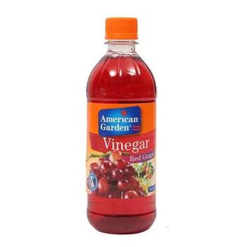 American Garden Natural Red Grape Vinegar 473ml