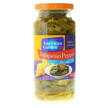 American Garden Jalapeno Pepper Sliced 454g