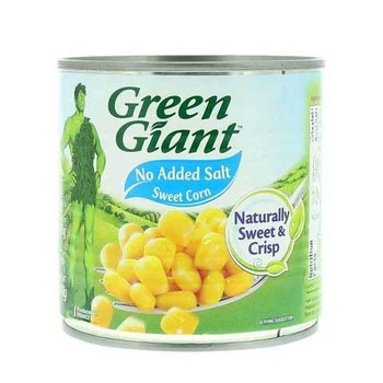 Green Giant No Added Salt Sweet Corn 198g