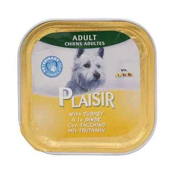Plaisir Dogs Food Pate With Turkey 150g
