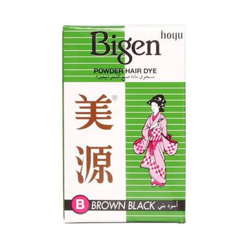 Bigen Powder Hair Dye Brown Black 6g