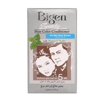 Bigen Speedy Hair Color Conditioner Dark Brown 883