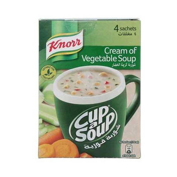 Knorr Cream Of Vegetable Soup 18g???4