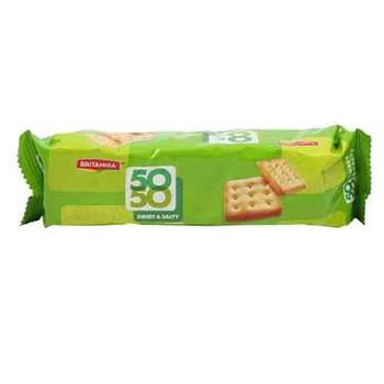 Britannia 50 50 Sweet & Salty Biscuit 71g