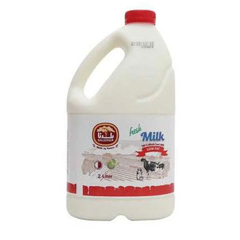 Baladna Fresh Cow Milk Low Fat 2L