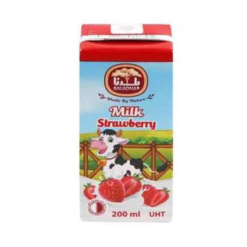 Baladna Long Life Strawberry Flavored Milk 200ml