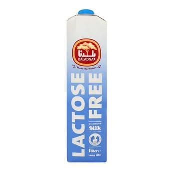 Baladna Long Life Milk Lactose Free 1L
