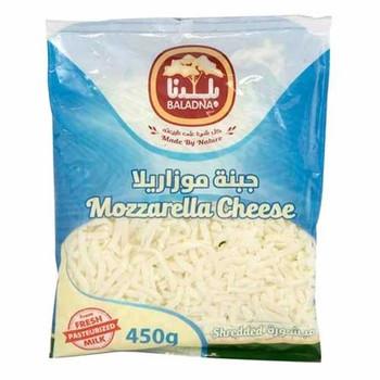 Baladna Mozzarella Cheese Shredded 450g