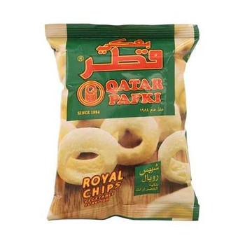 Qatar Pafki Royal Chips Vegetable Flavour 18g