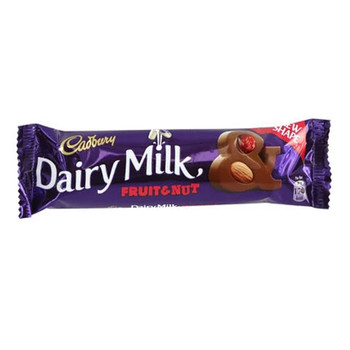 Cadbury Dairy Milk Chocolate Fruit & Nut 38g
