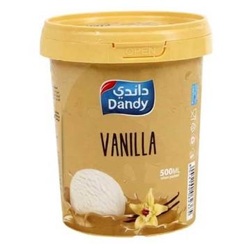 Dandy Ice Cream Vanilla 500ml