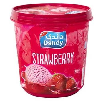Dandy Ice Cream Strawberry 2L