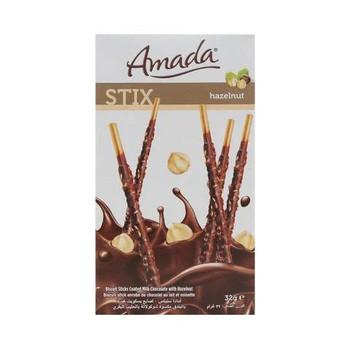 Amada Biscuit Stix Hazelnut 32g