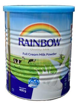 Rainbow Full cream milk Powder 400g Tin