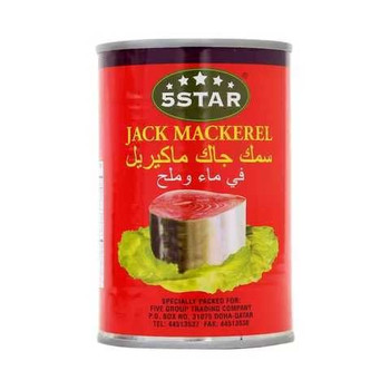 5 Star Jack Mackerel Fish Can 425g