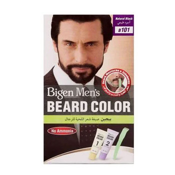 Bigen Men's Beard Color Natural Black B101