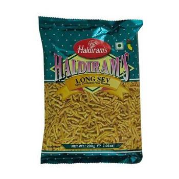 Haldiram's Long Sev Spicy Chickpeas Flour Noodles 200g