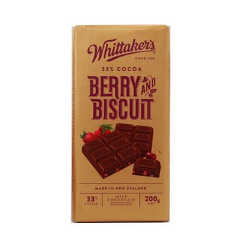 Whittakers Berry & Biscuit   200g
