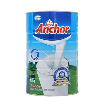 Anchor Fortified Instant Full Cream Milk Powder Can 1.8kg