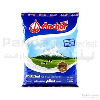 Anchor Fortified Full Cream Milk Powder 400g