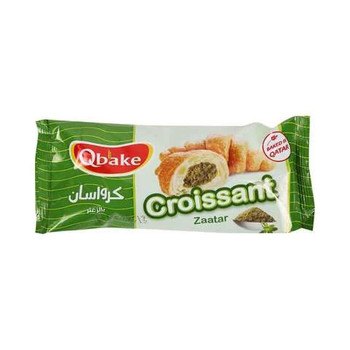 Qbake Zaatar Croissant 60g