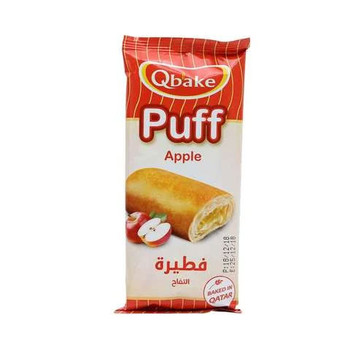 Qbake Apple Puff 70g