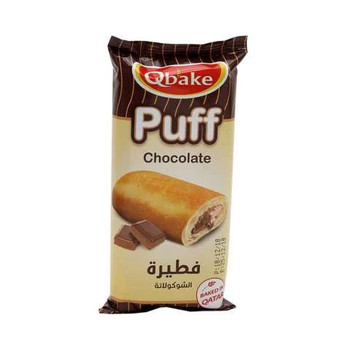 Qbake Chocolate Puff 70g