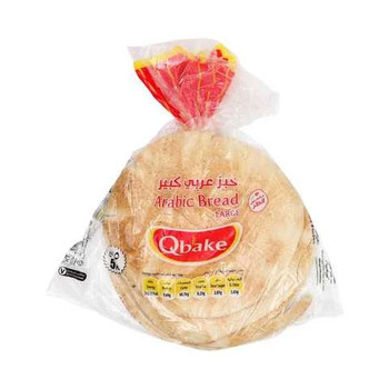 Qbake Arabic Bread Large 5pcs