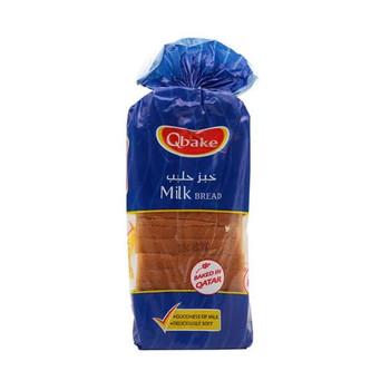 Qbake Milk Bread 620g