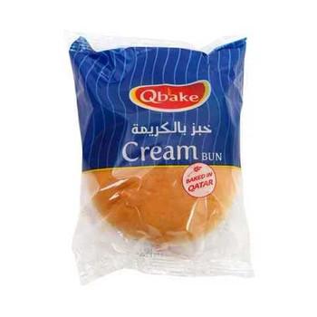 Qbake Cream Bun 75g