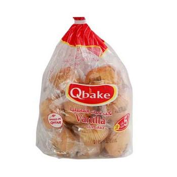 Qbake Vanilla Cupcake 450g
