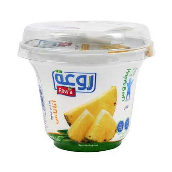Raw'a Pineapple Yoghurt Low Fat 170g