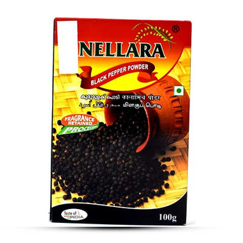 Nellara Black Pepper Powder 100gm