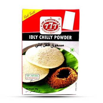 777 Idly Chilli Powder 80gm