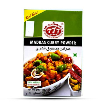 777 Madras Curry Powder 165gm