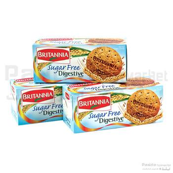 Britannia Digestive Sugar Free 2+1
