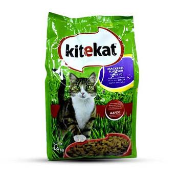 KITEKAT MACKERAL  Cat food 1.4 KG