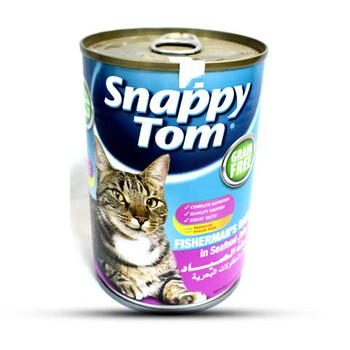 Snappy Tom FishermanS Basket Seafood Jelly Cat food 400gm