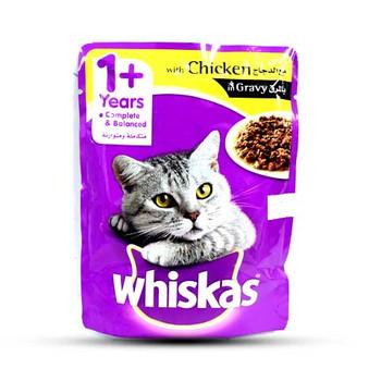 Whiskas Chicken Cat food Pouch 85gm