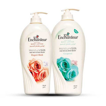 Enchanteur Body Lotion 500mlX2pc Promo