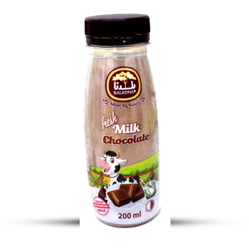 Baladna Fresh Flavored Milk Chocolate 200ml