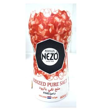 Nezo Salt Plastic Jar 600gm
