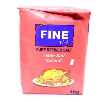 Fine way Salt 1Kg Pkt
