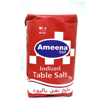 Ameena Salt Packet 1Kg