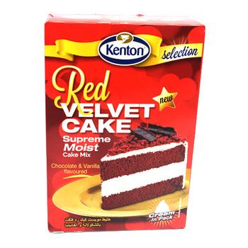 Red Velvet Supreme Moist Cake Mix 580gm